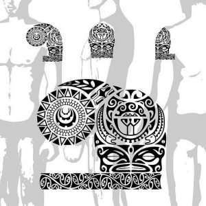 polynesian-shoulder-tattoo-and-its-position