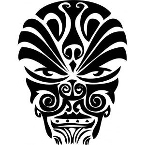 polynesian-tattoo-design-cool-face