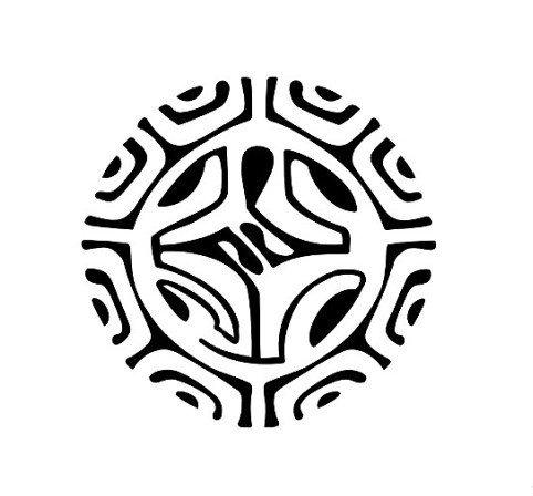 lizard-symbol-embedded-in-a-polynesian-tattoo-design
