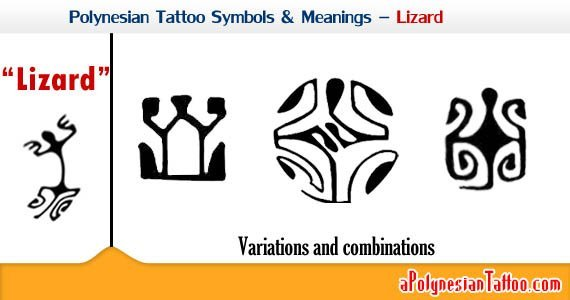 polynesian-tattoo-symbols-meanings-lizard