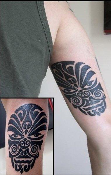 Polynesian Armband Tattoo