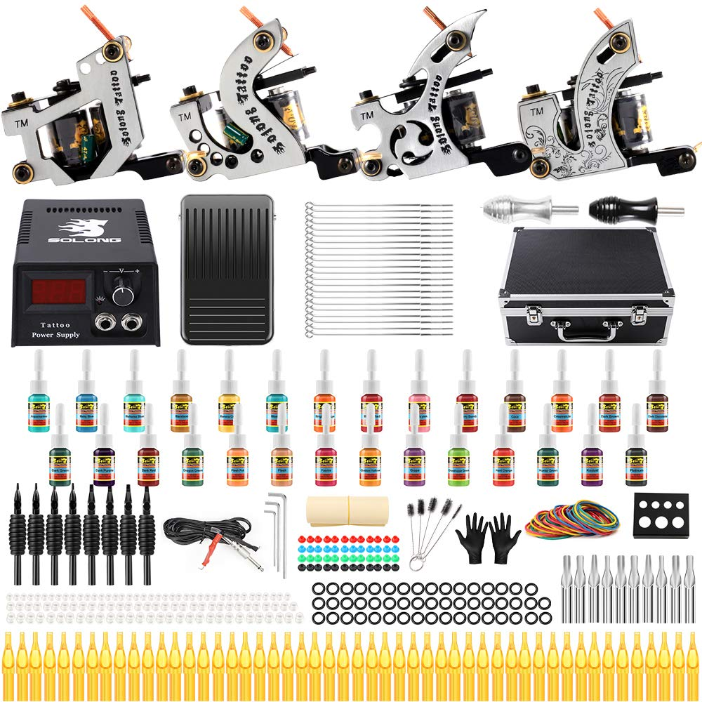 Solong Tattoo Kit 4 Pro Tattoo Machine Reviews
