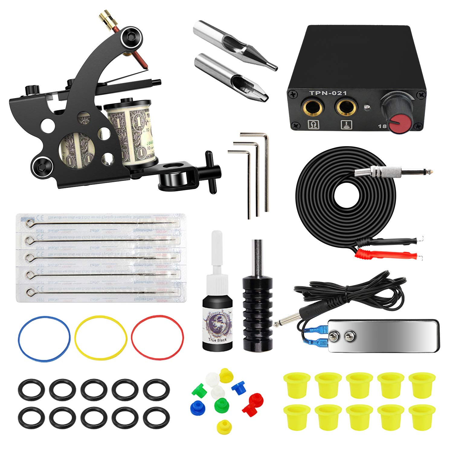 ITATOO Complete Tattoo Kit for Beginners 1 Pro Tattoo Machine Review